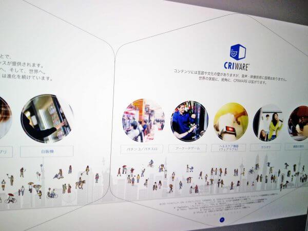 システム開発会社パンフレット 中面デザイン