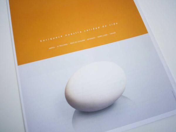 採石企業パンフレット 表紙デザイン