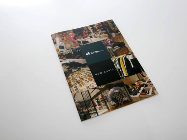 高級ブランドオークションパンフレット 表紙デザイン