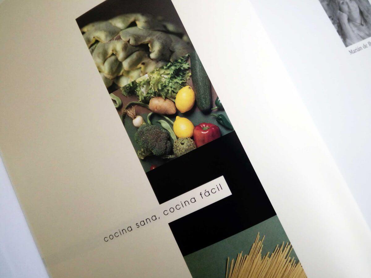 エコ食材レシピ本 中面デザイン